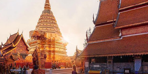 Explore the ancient temples in Chiang Mai