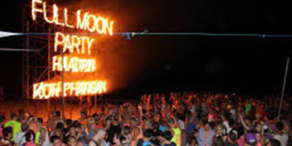 Party all night long in Koh Phangan