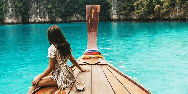 A haven for party animals, Phi Phi Islands