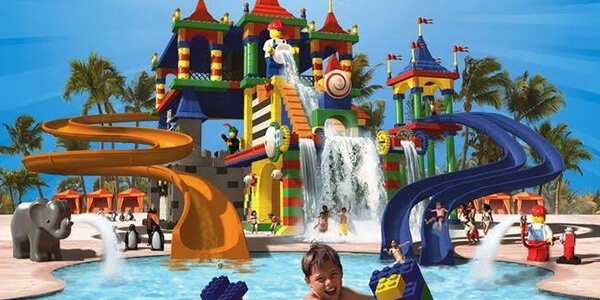 Splash at the Legoland Water Park
