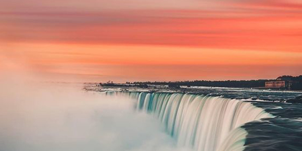 Get soaked at the gigantic Niagara Falls which is located on the New York-Canada Border