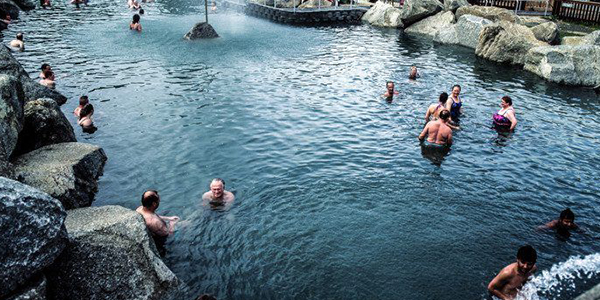Warm yourself up at Chena Hot Springs, Alaska