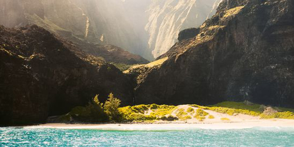Head out on a well worth helicopter tour over the Kauai Island