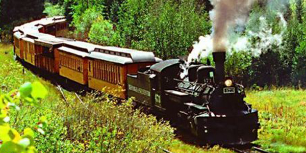 Head out for a journey old style via steam train ride in Durango