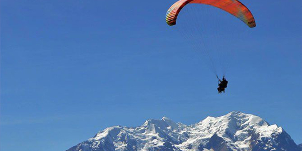 Paraglide your way over the beautiful city of La Paz, Bolivia