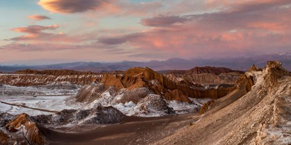 Visit the unique Moon Valley in Atacama, Northern Chile
