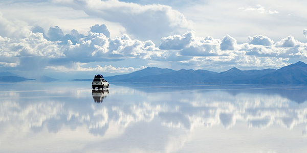Get amazed at Salar De Uyuni Salt Flats in Bolivia