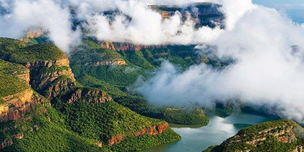 Visit the world's largest green canyon